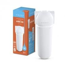 Filtro acqua 230 branco carbon block conexão 1/2 - 1000-00 - Acquabios