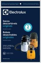 Filtro de aspirador de pó descartável gt3000 electrolux com 3 - Electrolux