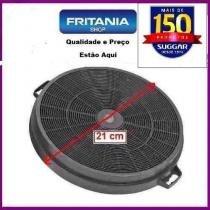 Filtro de carvao ativado p/coifa 21cm suggar original 1285fc - Fritania