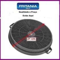 Filtro de carvão ativado para coifa (d 21cm) 2peças 1285fc - Fritania