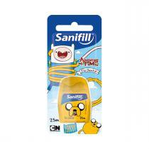 Fio dental kids sanifill - adventure time 25m -