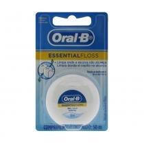 Fio Dental Oral-B Encerado EssentialFloss 50m 1 Unidade -