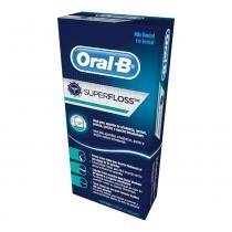 Fio dental oral-b super floss - 50 unidades - Procter glambe