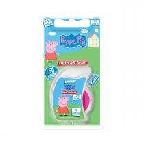 Fio dental peppa pig dentalclean - tutti frutti 50m - Dental clean