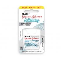 Fio dental reach johnsons  johnsons 40m whitening 1 unidade -
