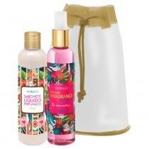 Fiorucci Splash Fragrance Exotic Chic Kit - Deo Colônia + Sabonete Líquido -