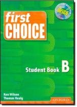 First choice student book b - Oxford do brasil