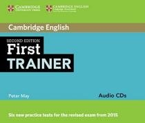 First trainer audio cd - 2nd ed - Cambridge audio visual  book teacher