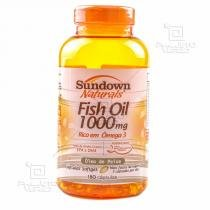 Fish Oil - Óleo de Peixe (1000mg) 180 Cápsulas Softgels - Sundown - 180 Softgels - Sundown