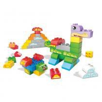 Fisher Price Balde Vermelho Criando Histórias com 60 peças - Mattel - Mattel