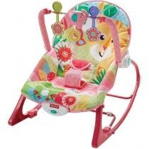FISHER-PRICE Cadeira Balanco Tigre Rosa Mattel FMN51 -