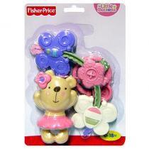 Fisher Price Mini Móbile Ursinho Rosa - Mattel - Fisher Price