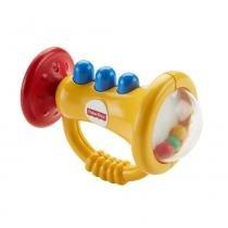 Fisher Price Mordedor Trompete - Mattel - Mattel
