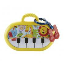 Fisher Price Piano Musical Amigos da Floresta - Mattel - Mattel