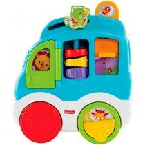 Fisher Price Sons Divertidos Carro dos Animais - Mattel -