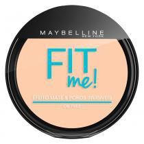 Fit Me! Maybelline - Pó Compacto para Peles Clara -