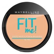 Fit Me! Maybelline - Pó Compacto para Peles Clara - Maybelline