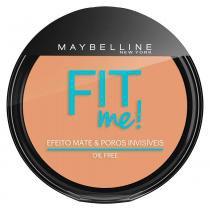 Fit Me! Maybelline - Pó Compacto para Peles Médias - Maybelline