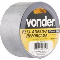 Fita adesiva reforçada silver tape 50mmx10m prata - Vonder -
