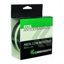 Fita Antiderrapante 50mmx5m-preta C/refletivo-carbografite -