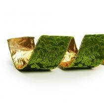 Fita aramada verde: 1413926 Larg. 3,80 x Compr. 9,14 PT C/3 UN Cromus