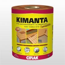 Fita Auto Aderente Alum 10x200mm Terra Cota Kimanta - Ciplak - CIPLAK.