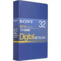 Fita Betacam Sony BCT-D32 de 32 Minutos -