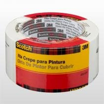 Fita Crepe Scotch Para Pintura 50x50mm 3m - 3M