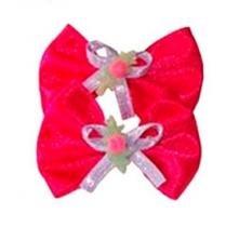 Fita de Cetim Bichinho Chic Vermelho 3,5 cm - Bichinho Chic