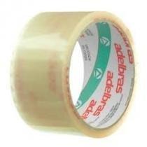Fita Embalagem Transparente 4 Rolos 48mmx45m Adelbras -