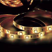 Fita LED 2,5W 30 LEDs/metro 40m 12V IP20 Taschibra 3000K Luz Amarela -