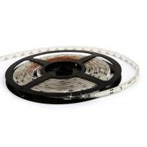 Fita LED à prova dágua - 60 LEDsm - 5 metros com fonte - Branco - Efatha