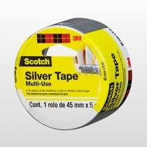 Fita Silver Tape Multiuso 3M 45mmx5m - 3M