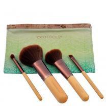Five Piece Travel Set Ecotools - Kit de Pincéis para Maquiagem - Ecotools