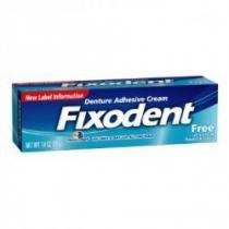 Fixador de dentadura fixodent free 68g - Fixodent