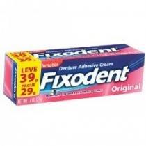 Fixador de dentadura fixodent original 39g -