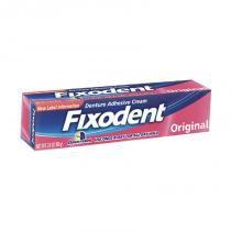 Fixador de dentadura fixodent original 68g -