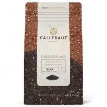 Flocos Chocolate Amargo Split 4D 1kg - Callebaut -