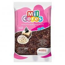 Flocos Macios Chocolate Mil Cores 500g - Mavalério - Mavalerio