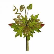 Flor Natal Cabo Médio Verde/Ouro - Cromus -