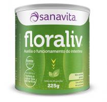 Floraliv Sanavita 225g Auxilia no Funcionamento do Intestino -