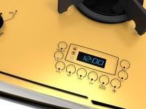 Fogão 5 Bocas de Embutir Dako Amarelo com Grill - Dakolors DE5VTP-AT0 5Q