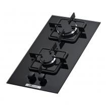 Fogão cooktop 2 bocas preto - Built