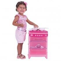 Fogão De Brinquedo 4 Bocas Disney Princess 18032 Xalingo - Xalingo