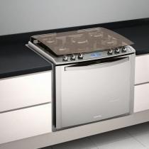 Fogão de Embutir 5 bocas I-Kitchen 76EIX Inox - Electrolux - Electrolux