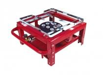 Fogão semi industrial master 1 boca alta pressão - roa metalúrgica - Roa metalúrgica