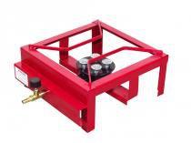 Fogão semi industrial speed 1 boca alta pressão roa metalúrgica - Roa metalúrgica