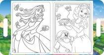 Folhas Para Colorir Com Maleta Adesivos Princesas Tilibra -