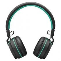 Fone com microfone pulse on ear stereo audio bluetooth preto/verde multilaser ph215 - Multilaser