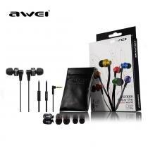 Fone De Ouvido Auricular Super Bass Microfone Awei Es900i -